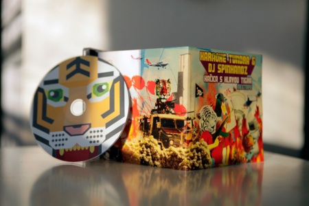 kacica s hlavou tigra mix cd