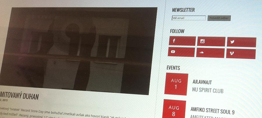 S novým webom a bez dĺžňa
